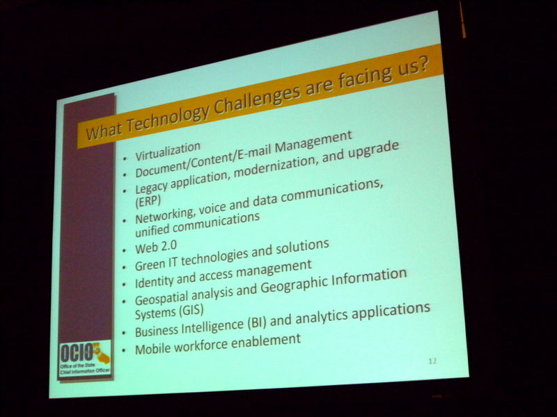 California IT Technology Challenges