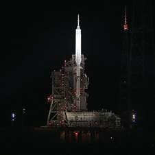 Ares 1-X on Launchpad