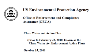 EPA Clean Water Act Action Plan