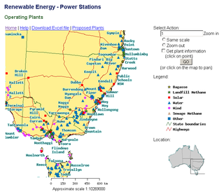 Australia Renewable Energy Power Stations