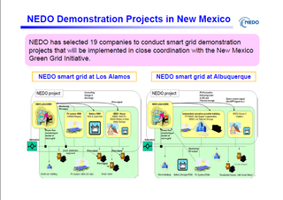 Japan NEDO Smart Grid New Mexico project