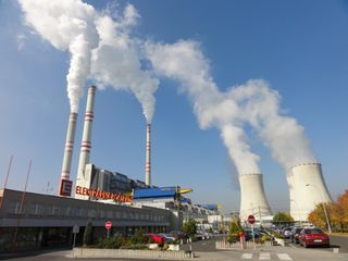 Pocerady Coal POwer Plant