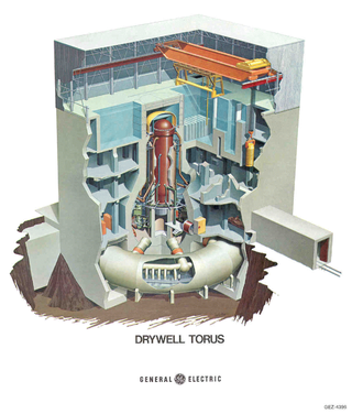 Nuclear Reactor GE Boiling Water Mark 1 Containment