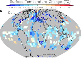 Surface Temperature Change Smittner et al Science Nov 2011