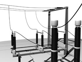 Primtech substations cad_design_high_voltage_switchgear