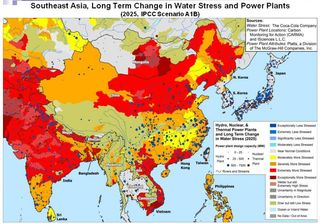 Water stress and power plants 2025 Coco Cola Company 2011