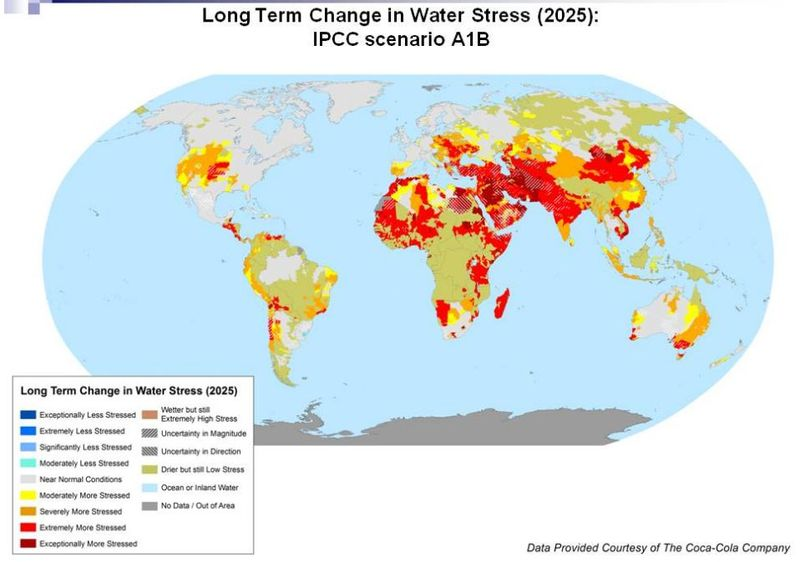 Water stress 2025 Coca Cola
