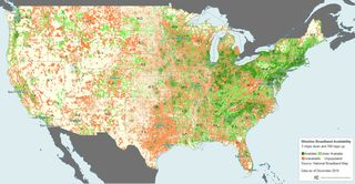 Wireline Broadband Availability FCC National Broadband Map Dec 2010