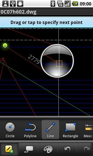 AutoCAD WS for Android ss-1-320-480-160-0-aae99aa2b09e246c25189d2ebc4741be1706011d