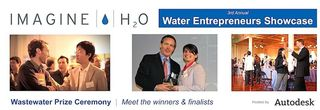 H2o Imagine water entrepreneurs showcase wastewater prize awards