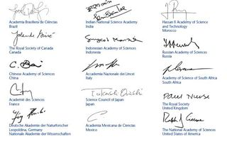 National Academies G-Statements Signatories
