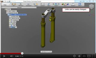 Project Stimulus mechanical simulation