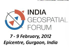 India Geospatial Forum 2012 logo
