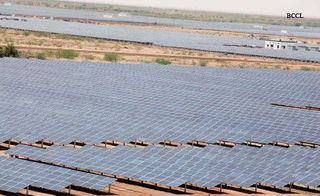 Gujarat Solar Park Economic Times of India photo.cms