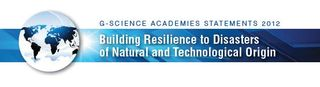 G-science resilience to disasters