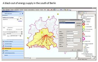 Utility network Berlin blackout