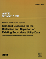 ASCE standard for classifying undergrpound utility data 40645