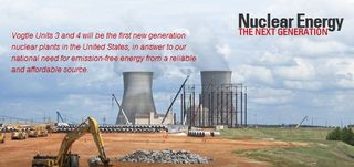 Vogtle nuclear power plant Southern Nuclear