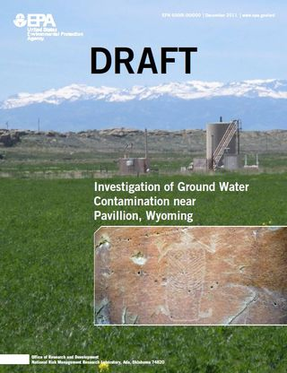 EPA draft report pavillion wyoming
