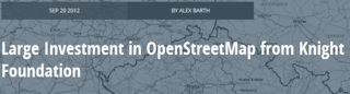 MapBox Knight Foundation OpenStreetMap
