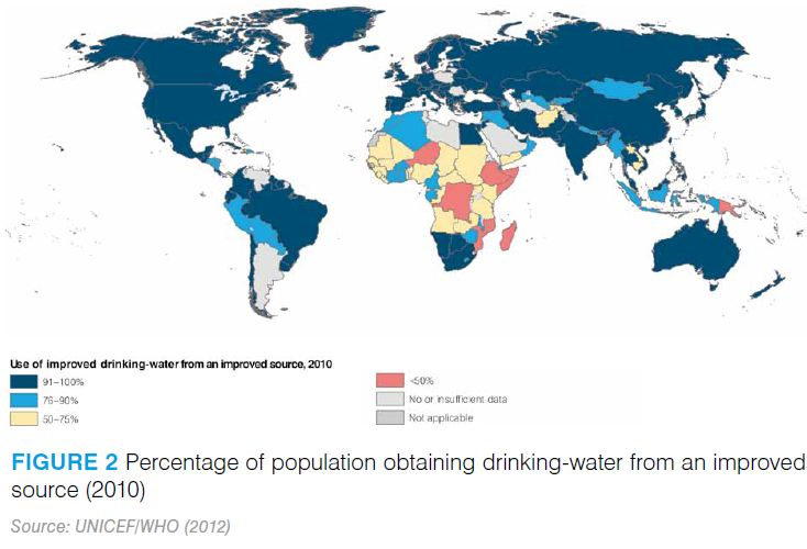 UN GLAAS Report 2012 Improved drinking water
