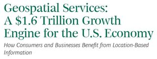 Geosspatial services industry BCG