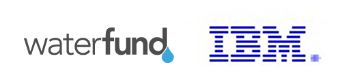 Waterfund IBM logos