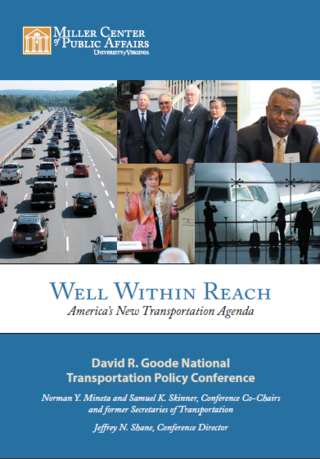 Transportation infrastructure bipartisan report