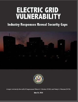 Cybersecurity Markey and Waxman report