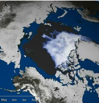 Arctic Sea Ice Sep 2012