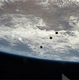 Cubesat launch NASA