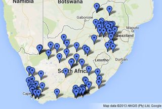 South Africa power plants