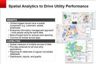 Oracle spatial analytics drive utility performance