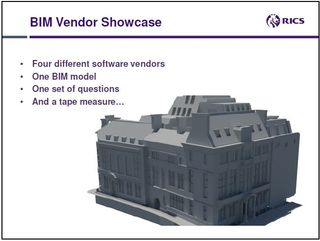 BIM dimensions extraction RICS