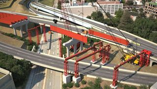 New Haven I-95 complex bridge structure Parsons Brinckerhoff CE_082013_45