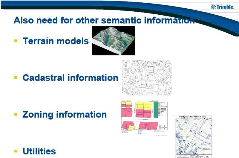 BIM and other semantic information