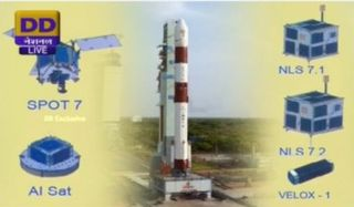 Indian-PSLV-C23-SPOT-7-June-30-2014-0422-UTC-350x205