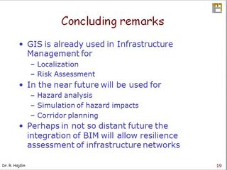 Integration of BIM and geopatial in highway management