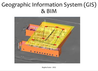 Birgitta Foster GIS and BIM