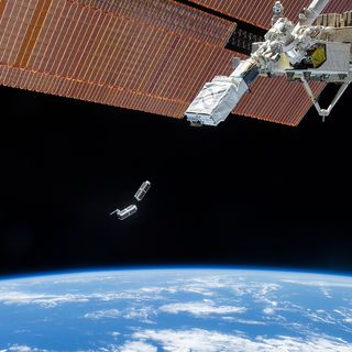 Planet labs doves-deploying