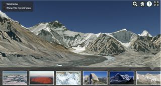 Mount Everest AGI Cesium