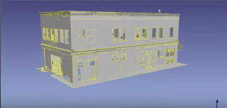Classified point cloud