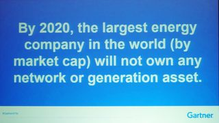 Largest utility in 2020 wont own assets