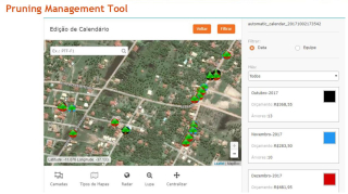 Pruning management tool Energis