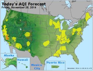 Air quality US Nov 28 2014