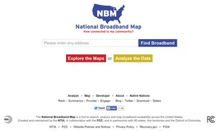 National Broadband Map 2