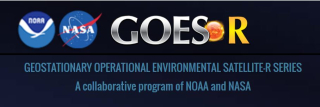 GOES-R weather satelllites logo