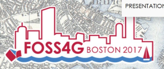 FOSS4G Boston logo