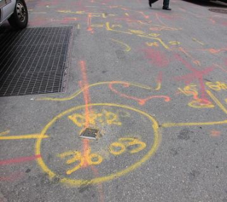 Underground markings NYC 811 streetworks manual img_4_2_1a
