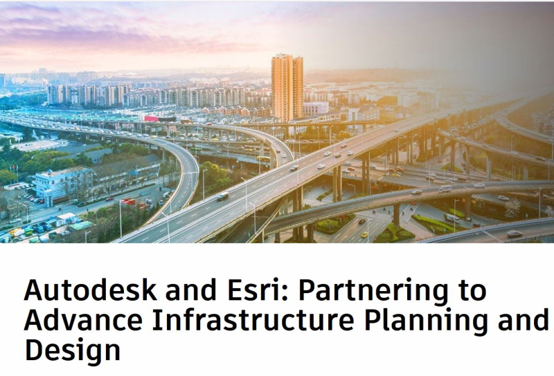 Autodesk and ESRI partnering